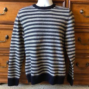 Men's H&M Fair Isle Sweater Medium